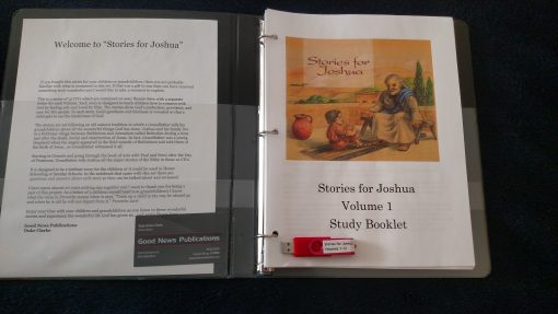 Study Book Series Stories for Joshua